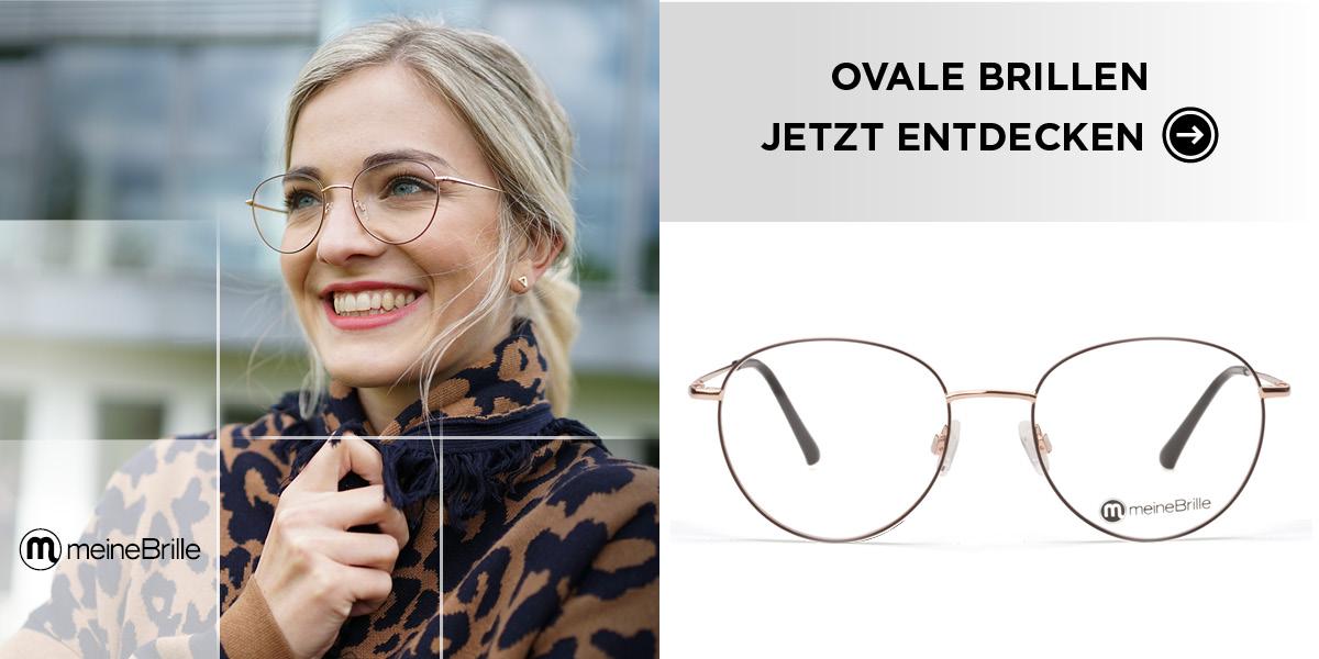 Ovale Brillen - jetzt entdecken